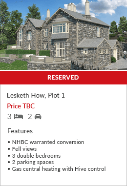 Lesketh How Plot 1 Land an New Builds by Hackney & Leigh