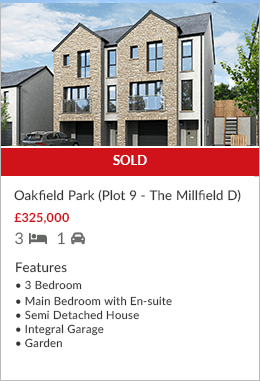 Oakfield Park Plot 9 sold by Hackney & Leigh